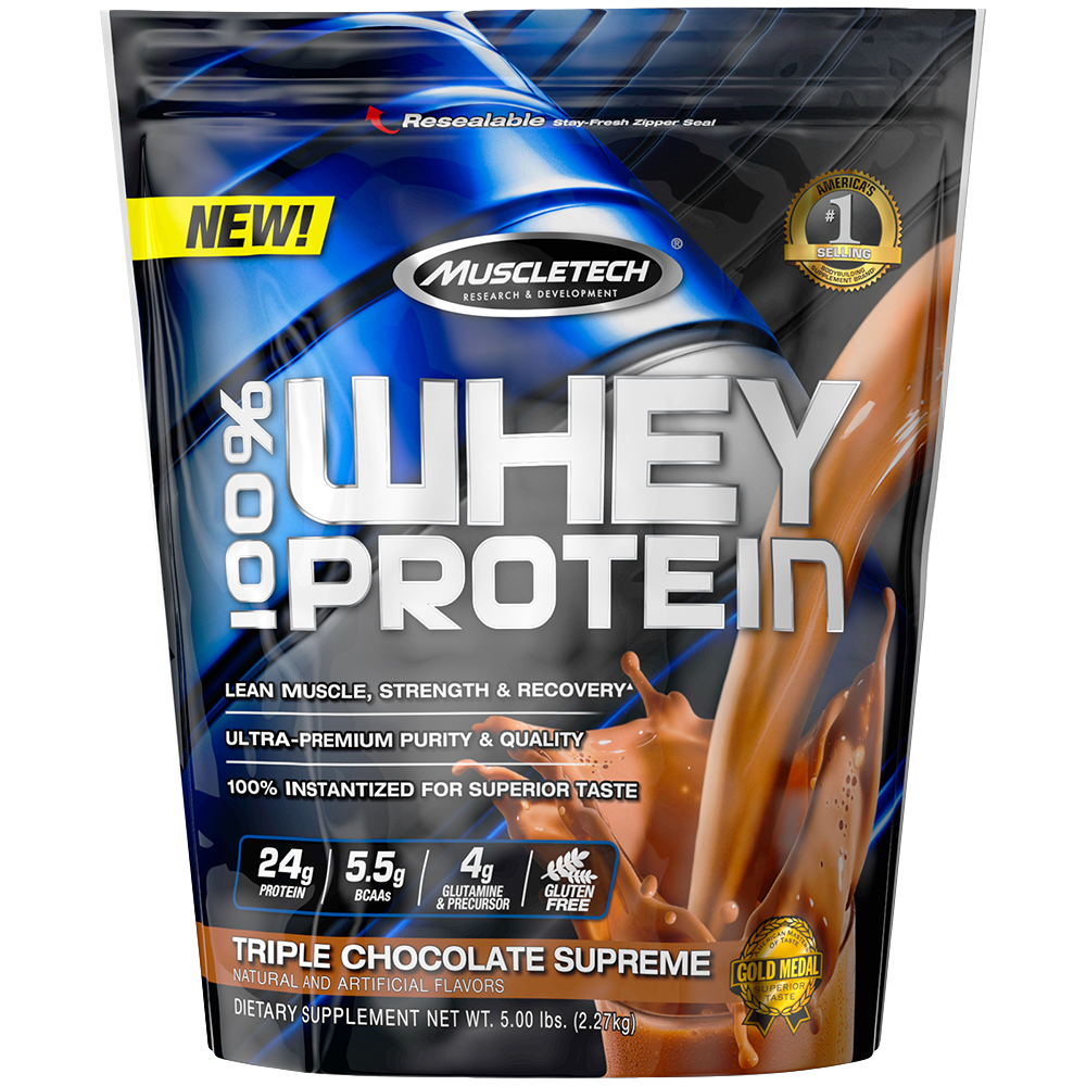 MuscleTech 100% Whey Protein 2,27 kg