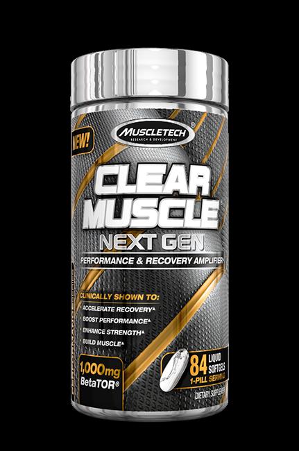 MuscleTech Clear Muscle 84 kap.