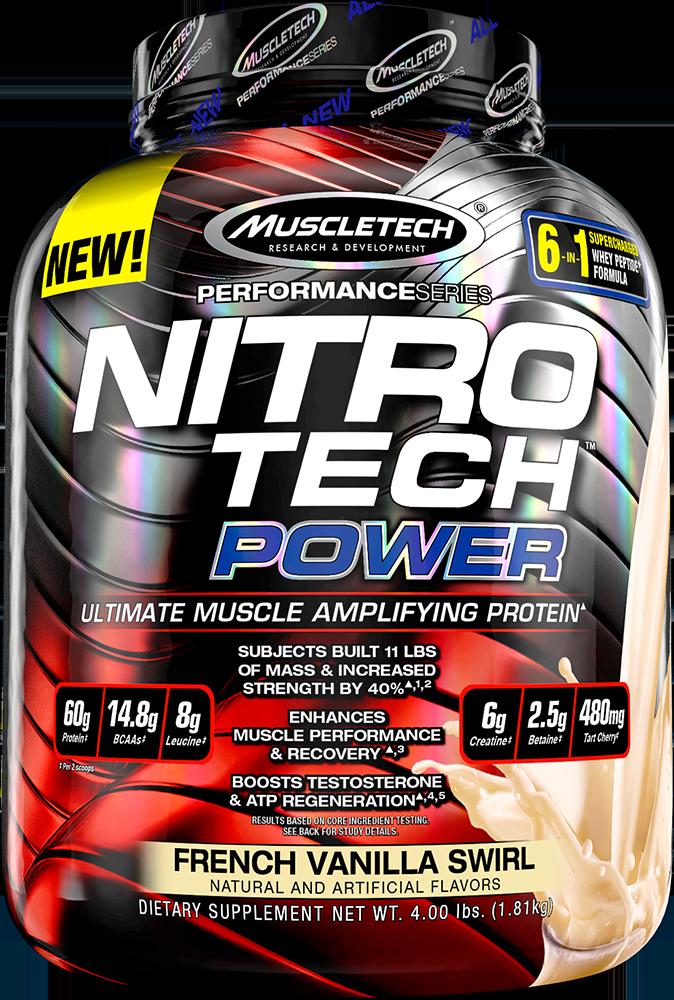MuscleTech Nitro Tech Power 1,8 kg