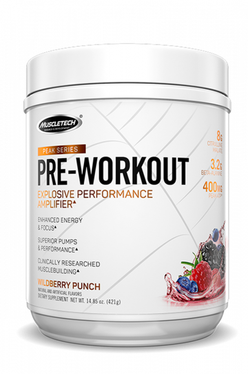 MuscleTech Peak Series Pre-Workout 421 gr.