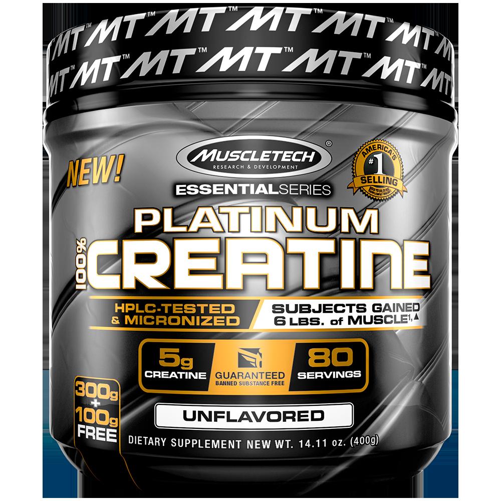 MuscleTech Platinum 100% Creatine 400 gr.
