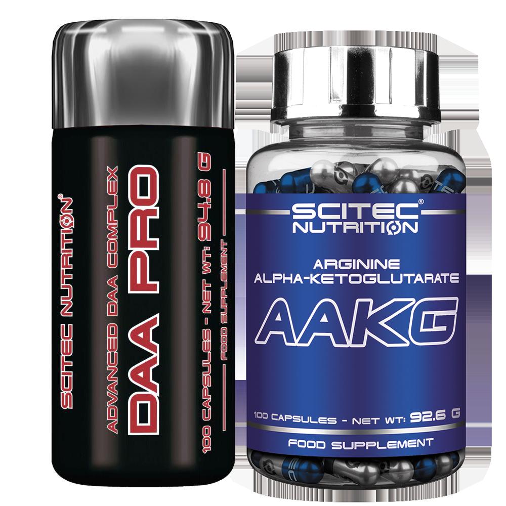 Scitec Nutrition DAA Pro + AAKG szett