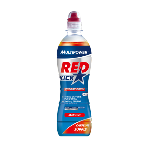 Multipower Red Kick Energy Drink 500 ml