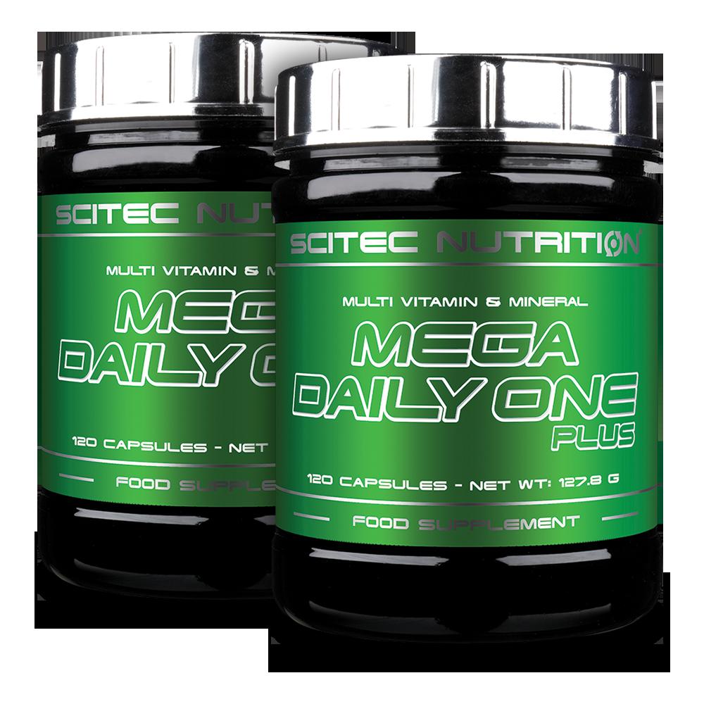 Scitec Nutrition Mega Daily One Plus 1+1 240 kap.