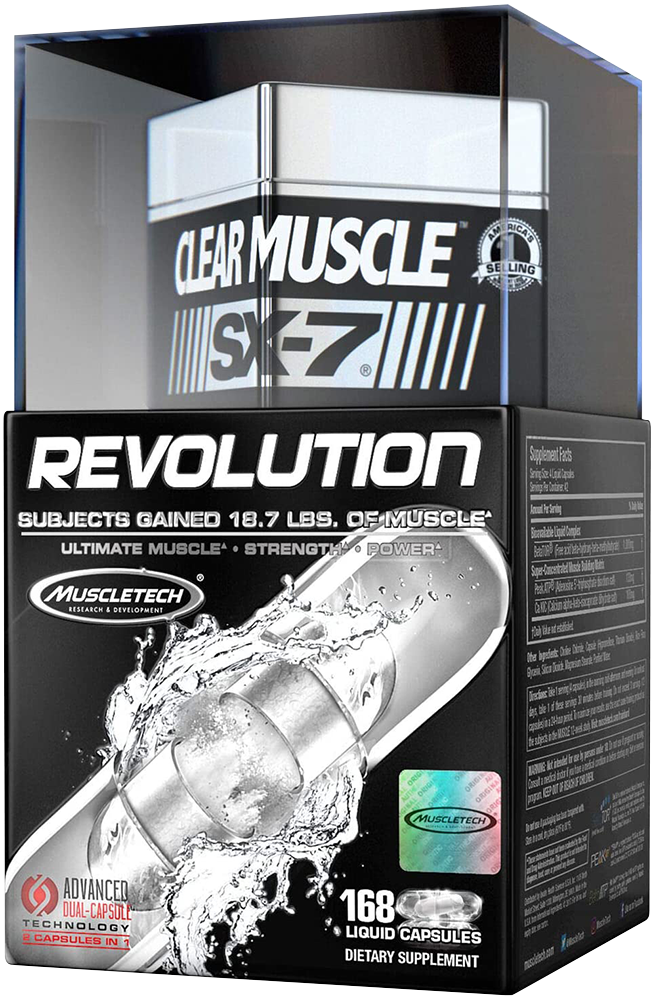 MuscleTech SX-7 Revolution Clear Muscle 168 kap.