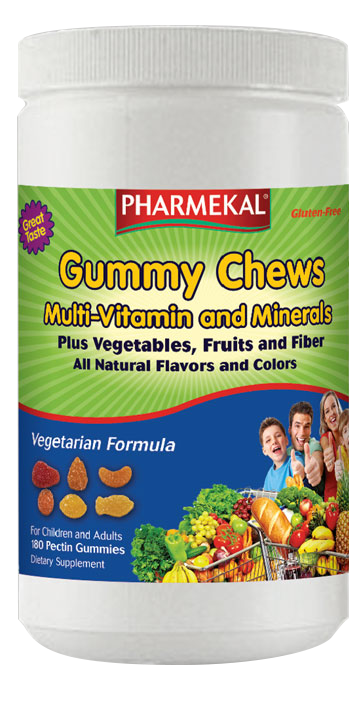 Pharmekal Gummy Chews Multi-Vitamin plus Vegetables 180 r.t.