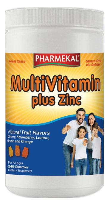 Pharmekal Multi Vitamin plus Zinc 240 r.t.
