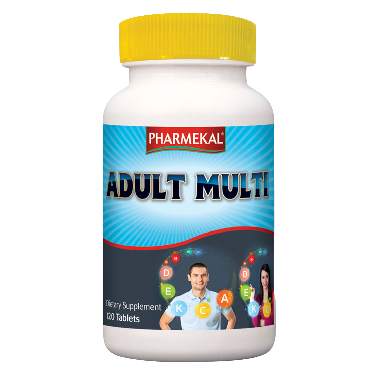 Pharmekal Adult Multi 120 tab.