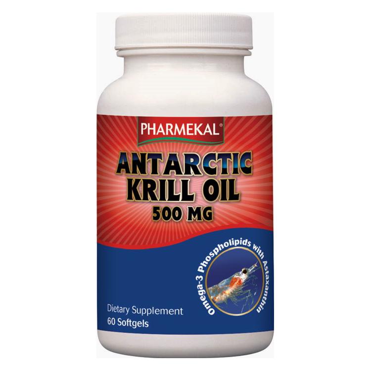 Pharmekal Antarctic Krill Oil 60 kap.