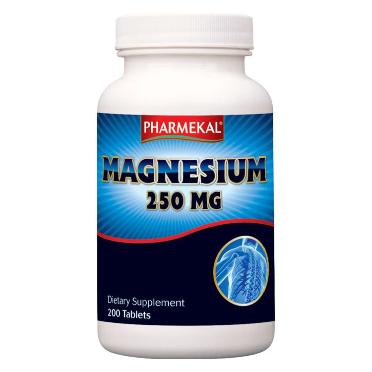 Pharmekal Magnesium oxide 200 tab.