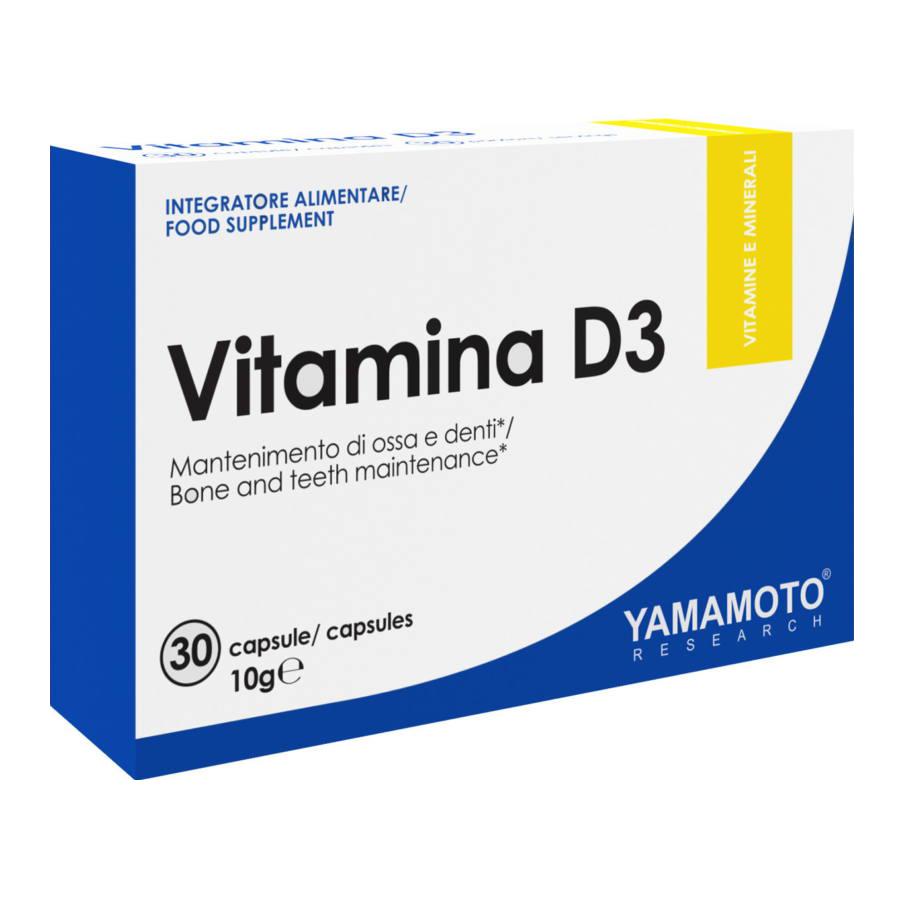 Yamamoto Vitamin D3 30 kap.