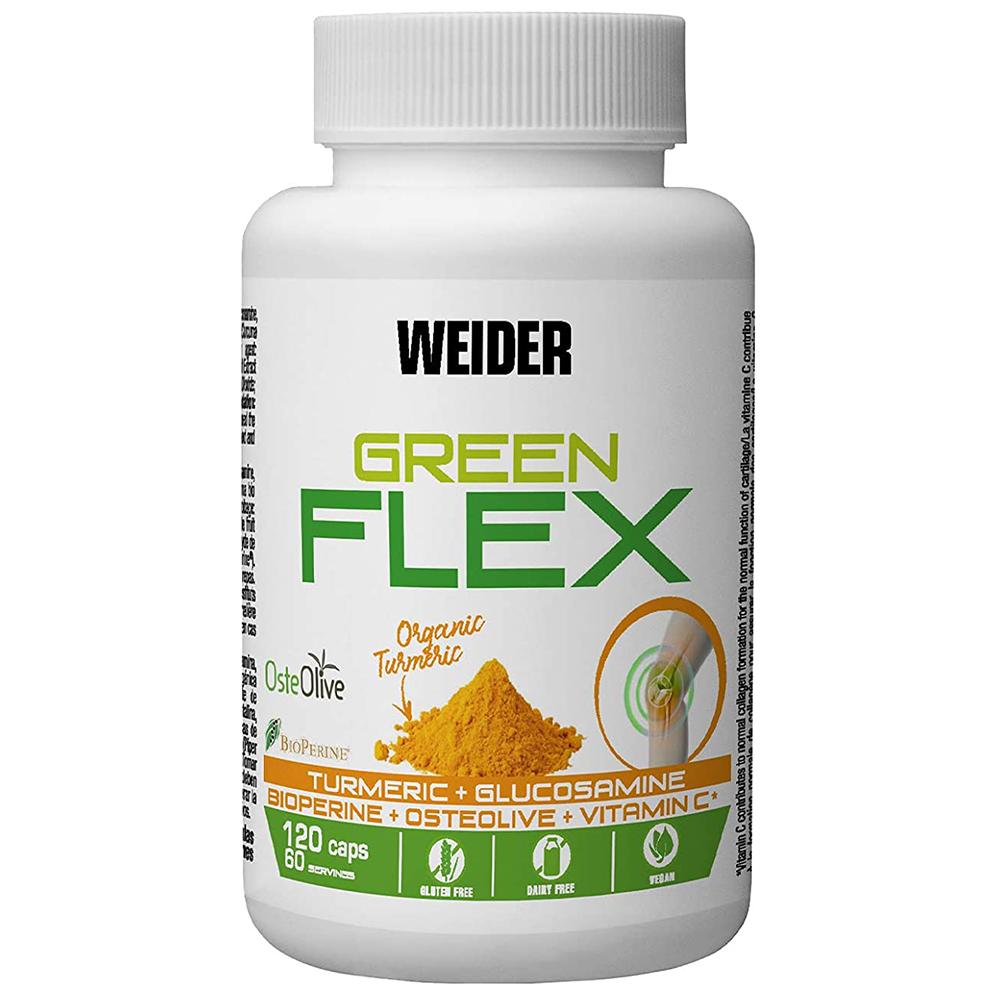 Weider Nutrition Green Flex 120 kap.