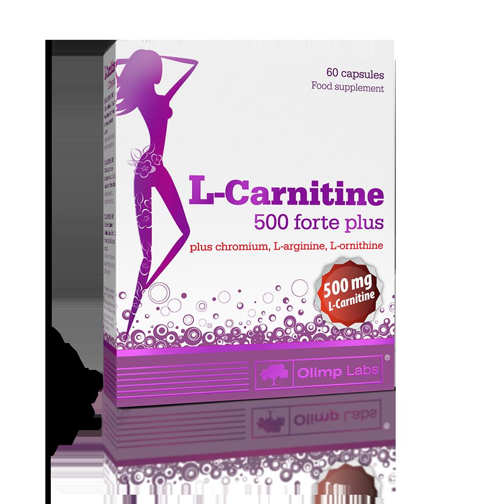 Olimp Sport Nutrition L-carnitine 500 Forte Plus 60 kap.