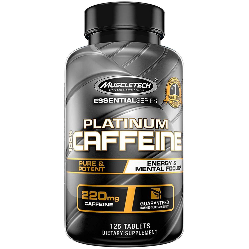 MuscleTech Platinum 100% Caffeine 125 tab.