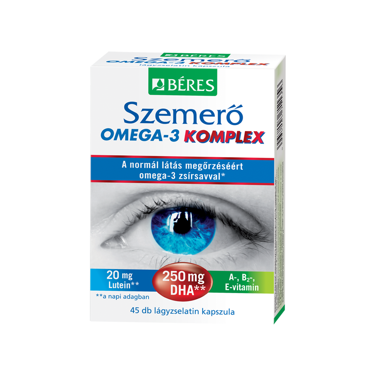 Béres Szemerő Omega-3 KOMPLEX 45 kap.