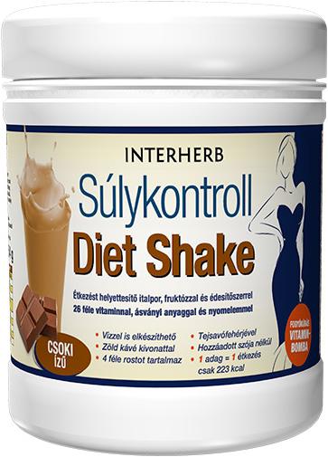 Interherb Súlykontroll Diet Shake 0,504 kg