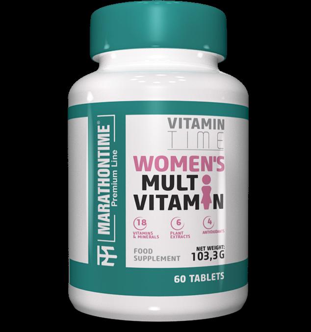 Marathontime Premium Line Womens Multi Vitamin 60 tab.