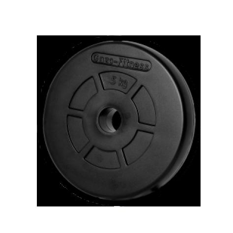 Gazo Fitness Gumírozott súlytárcsa 5kg db