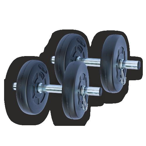Gazo Fitness Súlyzókészlet 2x5,5kg szett