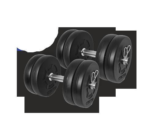 Gazo Fitness Súlyzókészlet 2x10,5kg szett