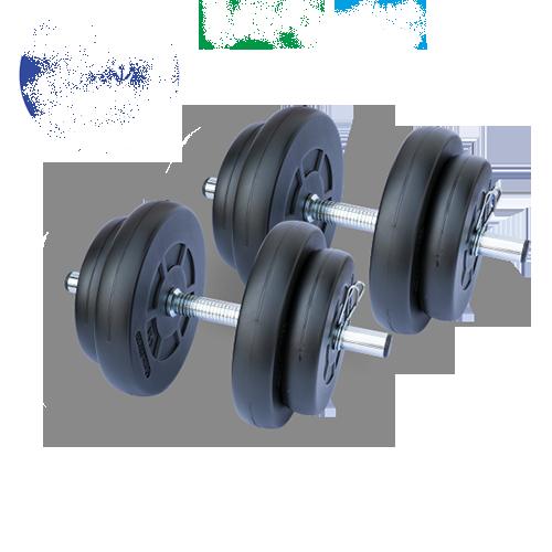 Gazo Fitness Súlyzókészlet 2x15,5kg szett