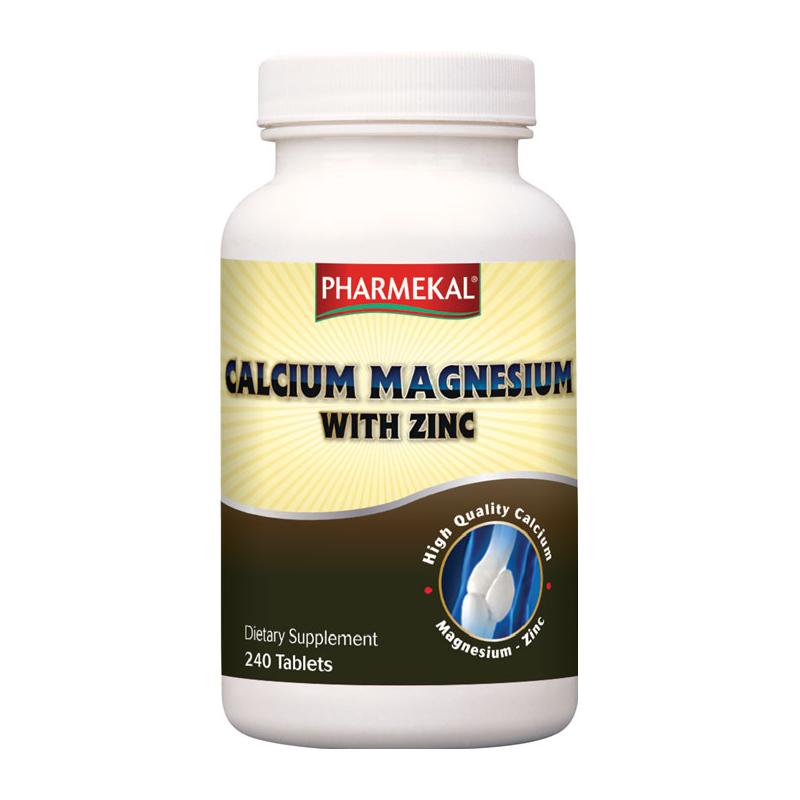 Pharmekal Calcium Magnesium with Zinc 240 tab.