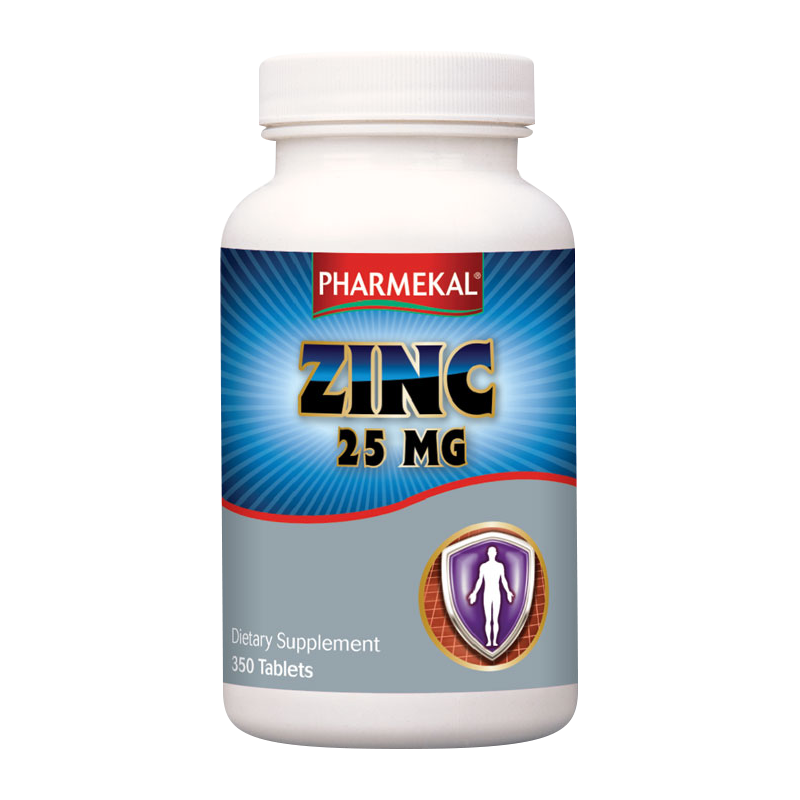 Pharmekal Zinc 25mg 350 tab.