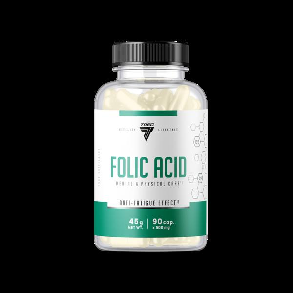 Trec Nutrition Folic Acid 90 kap.