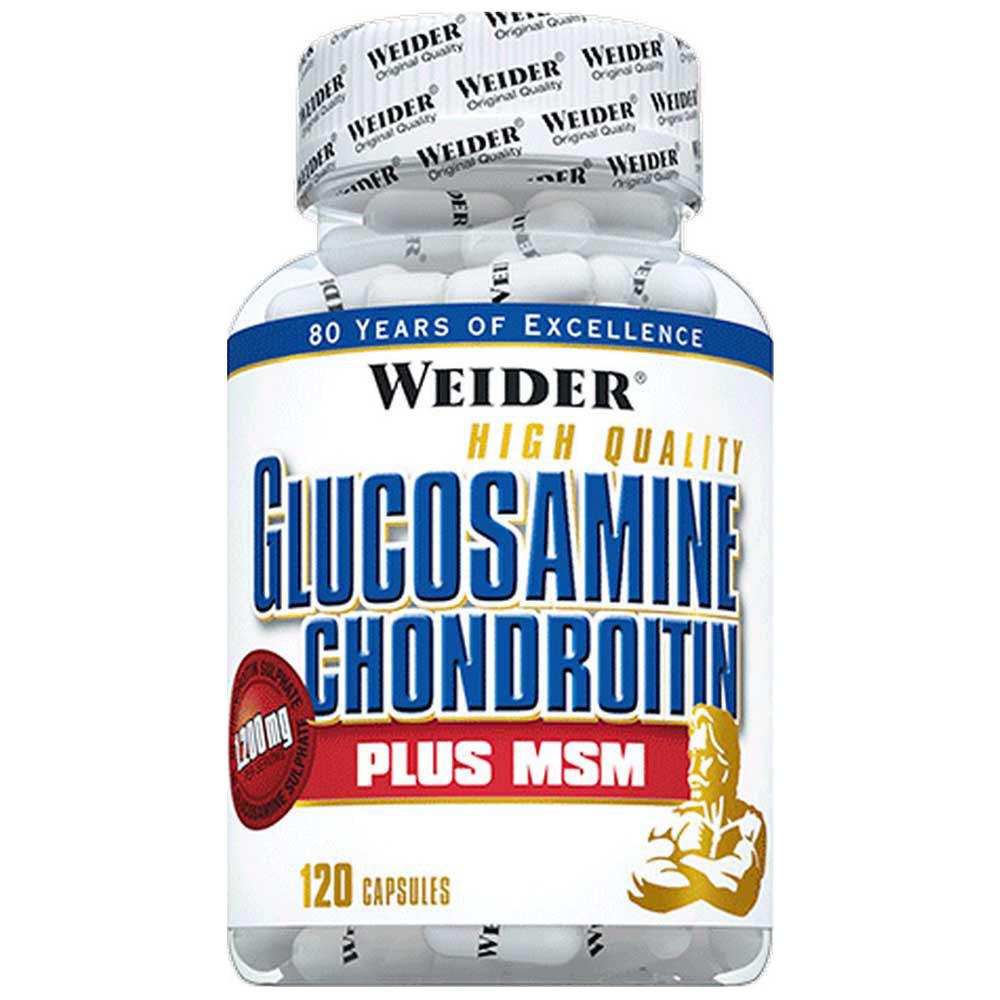 Weider Nutrition Glucosamine Chondroitin Plus MSM 120 kap.