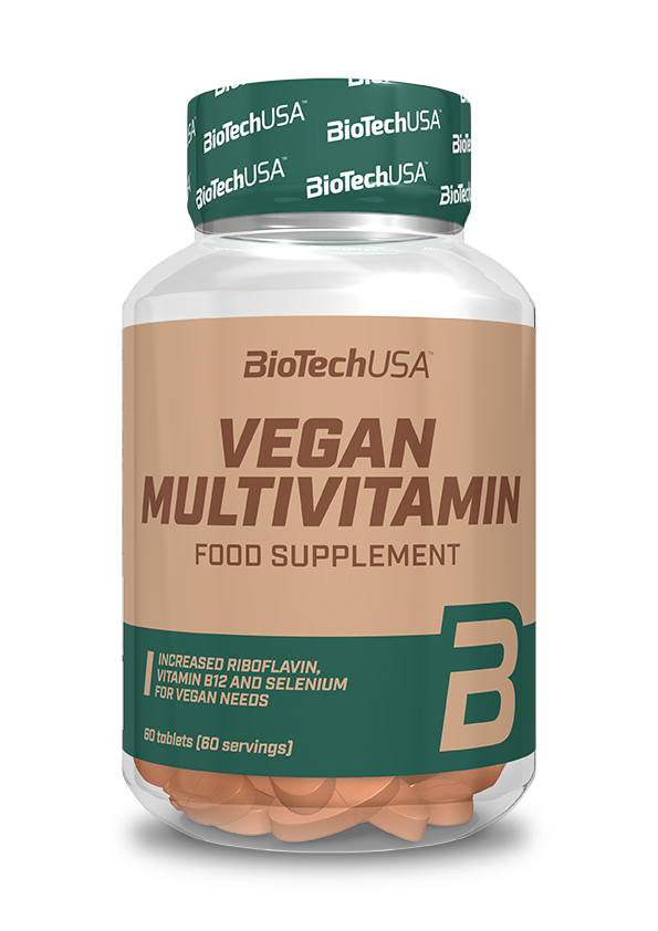 BioTech USA Vegan Multivitamin 60 tab.
