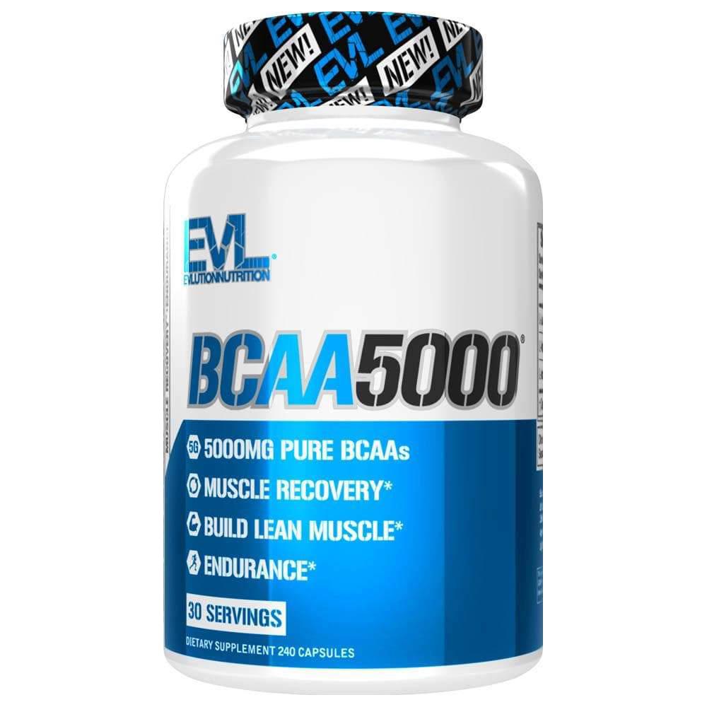 Evlution Nutrition BCAA 5000 Caps 240 kap.