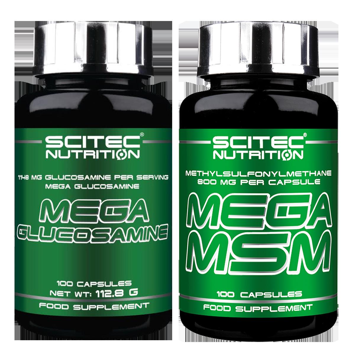 Scitec Nutrition Mega Glucosamine + Mega MSM szett