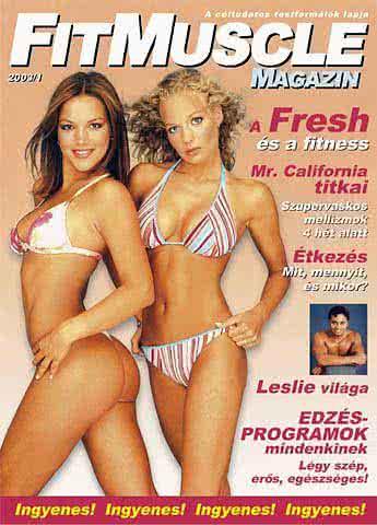 Könyvek/Magazinok FitMuscle - 1. szám - 2003. március