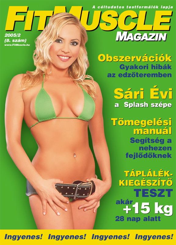 Könyvek/Magazinok FitMuscle - 8. szám