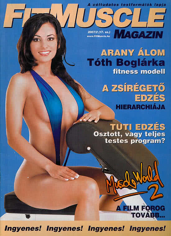 Könyvek/Magazinok FitMuscle - 17. szám