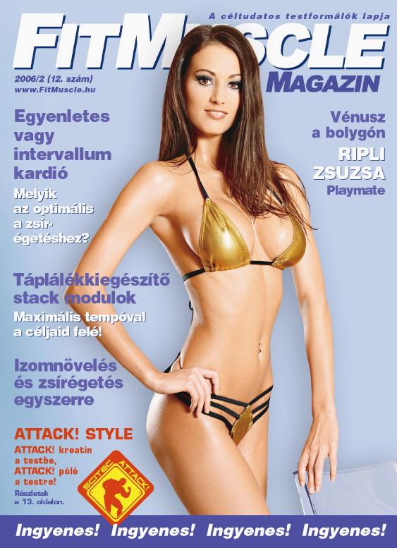Könyvek/Magazinok FitMuscle - 12. szám