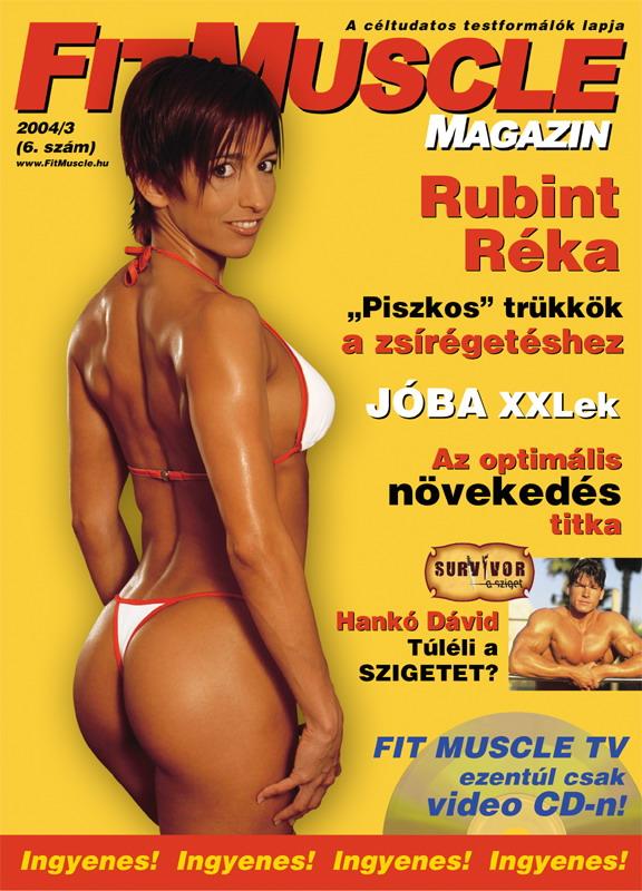 Könyvek/Magazinok FitMuscle - 6. szám