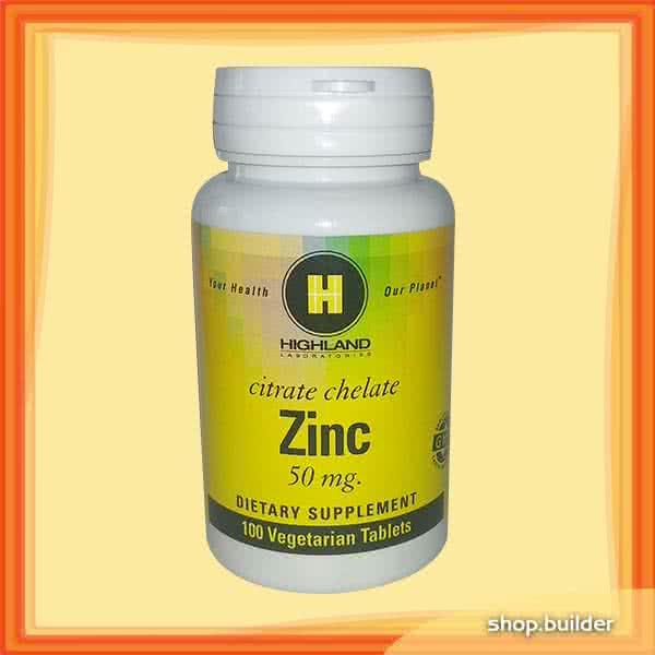 Highland Zinc 100 tab.