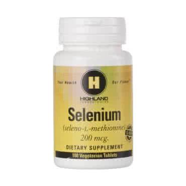 Highland Selenium 100 tab.