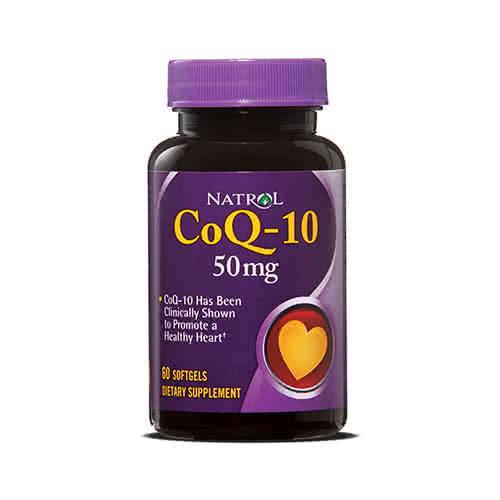 Natrol CoQ-10 (50 mg) 60 kap.