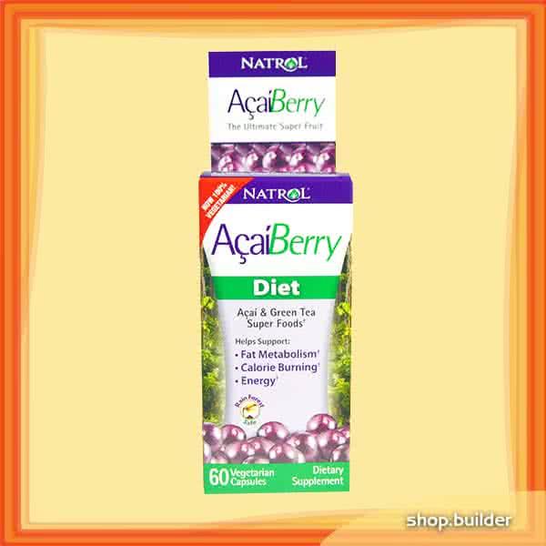 Natrol Acai Berry Diet 60 kap.