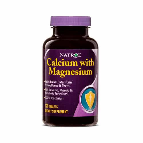 Natrol Calcium with Magnesium 120 tab.