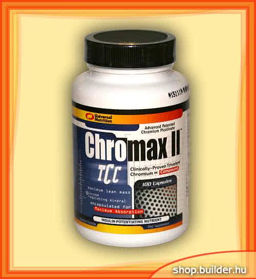 Universal Nutrition Chromax II 100 kap.