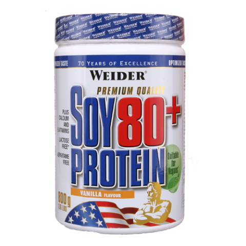 Weider Nutrition Soy 80+ Protein 0,8 kg
