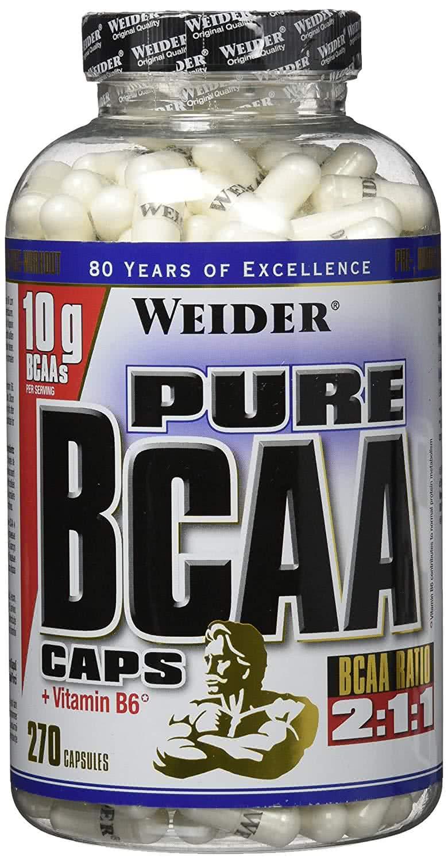 Weider Nutrition Pure BCAA Caps 270 kap.
