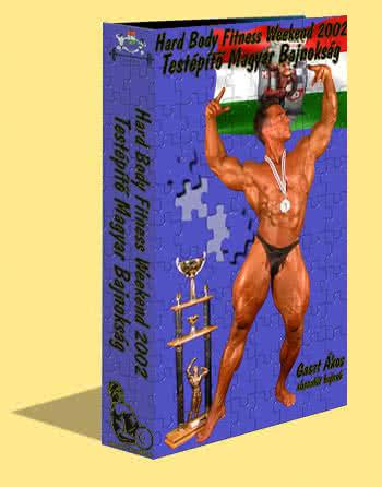Body.Builder Férfi Testépítő Magyar Bajnokság 2002