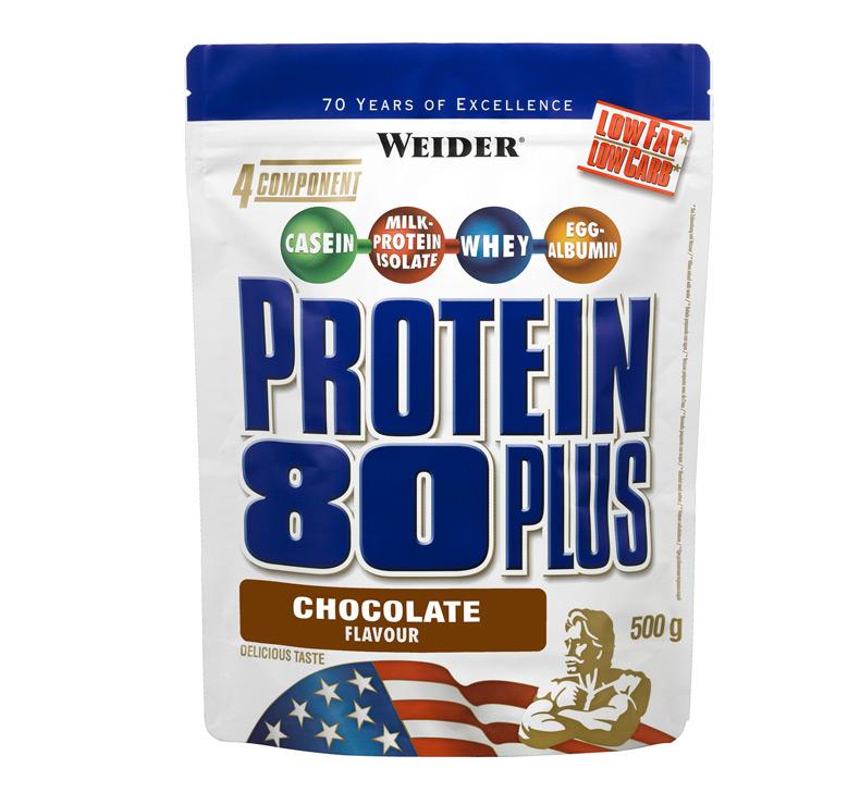 Weider Nutrition Protein 80+ 0,5 kg