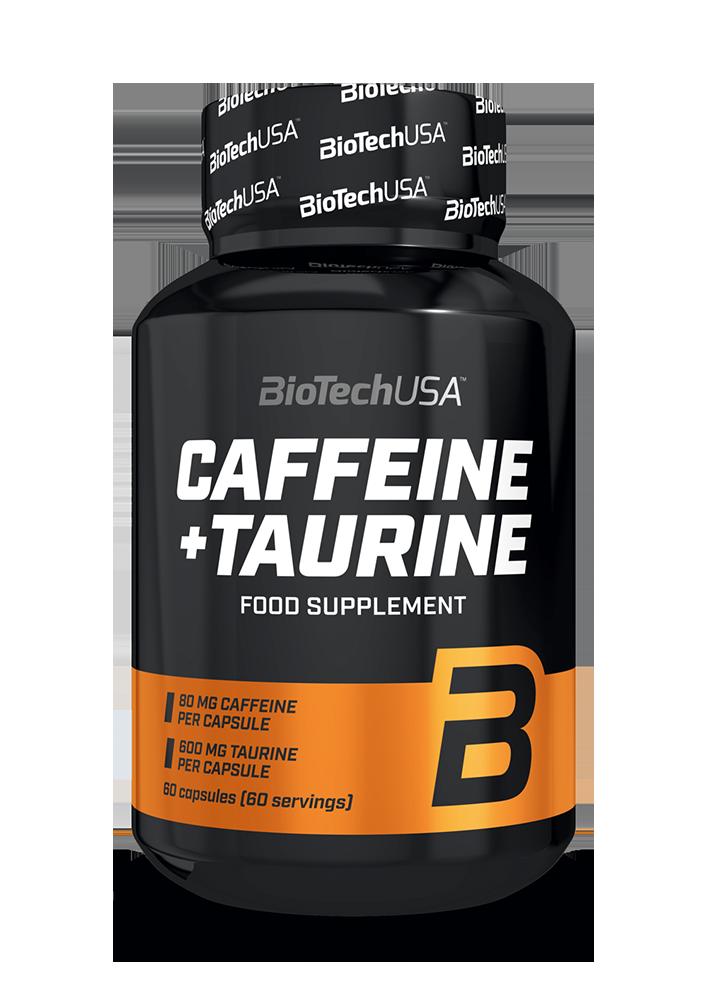 BioTech USA Caffeine + Taurine 60 kap.