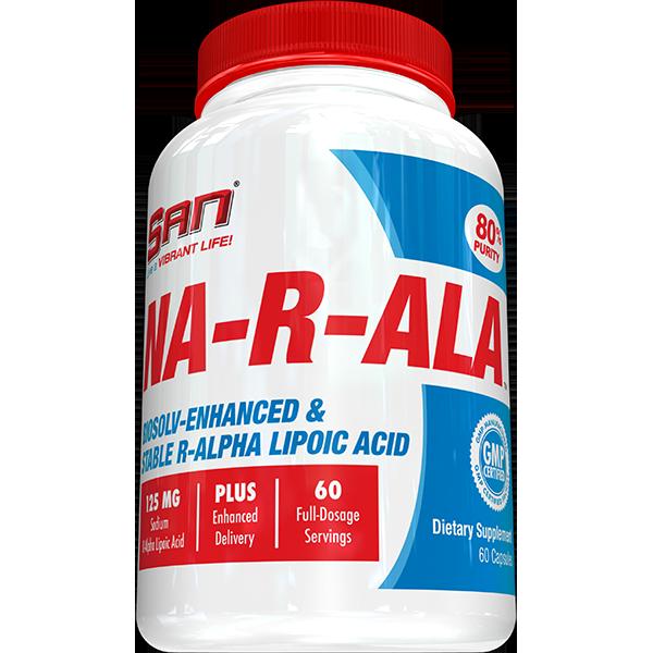 San Nutrition NA-R-ALA 60 kap.