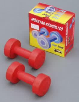 Egyéb sportszer Műanyag kézisúlyzó 0,5kg pár